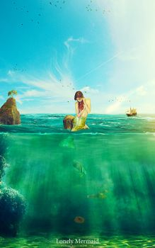 Lonely Mermaid by ExExic