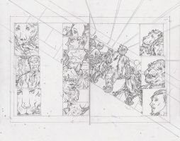 Stars 2 Page 6 and 7 Pencils by KurtBelcher1