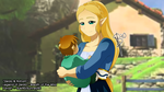 LoZ ::Zelda and Roham:: by Sunney90