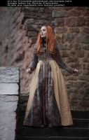 Dreaming Maiden Medieval Stock 006 by MADmoiselleMeliStock