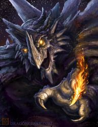 Dragon Clash: Fire Touch by VegasMike
