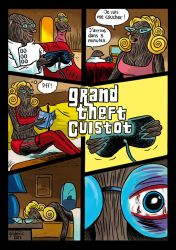 Taupe Chef : Grand Theft Cuistot by gilderic