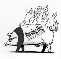 Burning Hog Graphics by SteamPoweredMikeJ
