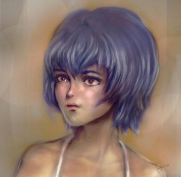 Rei Ayanami by bluelenses