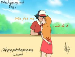 Life as a couple (Pokeshipping week 2016) by Marsy3