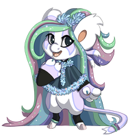 Tinsel Chibi by KatsaKitty