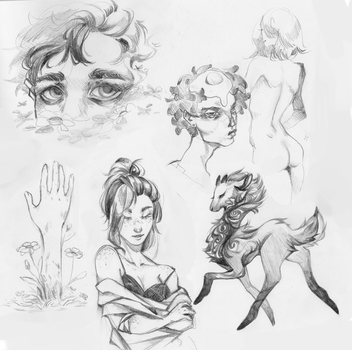Sketchpage by R0BUTT