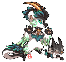 #616 Blessed Charity Tale BB w/m - Loki  AUCTION by griffsnuff