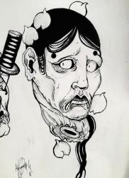 Japanese expression of pain 1 by Khov97