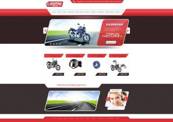 Layout Distac Motos by Danielsnows