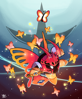 butterfly guy by TrippingOverStars