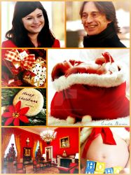 Rumbelle Christmas Baby by EmilieBrown