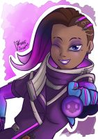 Overwatch : Sombra by Israel42