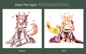 Draw this Again Challenge by Tthal