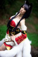 Ahri Cosplay by EroticNeko