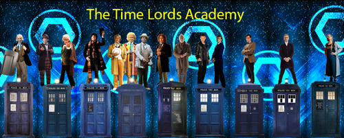 The Time Lords Academy Cover 3 by vvjosephvv