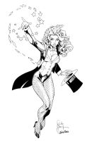Zatanna Ink - Randy Green by new-moon-night