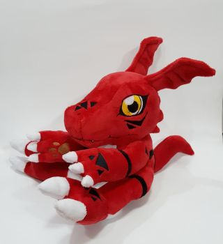 Digimon - Guilmon custom plush commission  by Kitamon