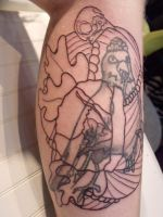Victorian zombie cover-up by IAteAllMyPaste