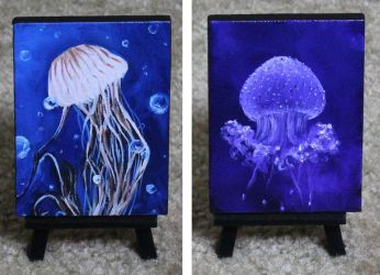 Mini Jellies 5 and 6 2017Aug by crazycolleeny