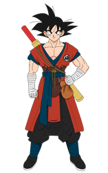 Dragon Ball Super Broly - Goku by XYelkiltroX