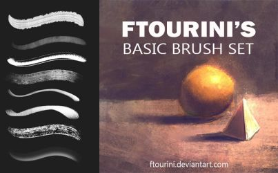 Ftourini Basic Painting Brushset by ftourini