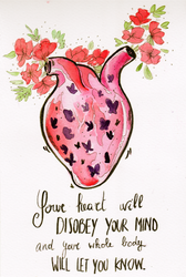 Your heart will disobey your mind by FishboneArt