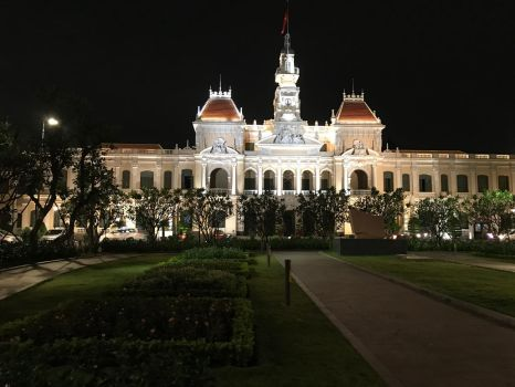 Ho Chi Minh City Town Hall by LilithLairPoetry