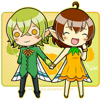 :AT: Fairy Couple by iCrisUchiha