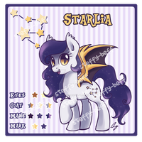 SOLD: Bat Pony Adoptable by steffy-beff