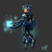 Megaman Re-Imagined by hielorei