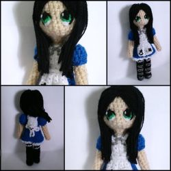 Alice Liddell amigurumi from Alice Madness Returns by ForgottenMermaid