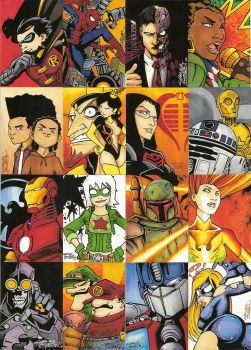 Revenge of the Sketch Cards by KidNotorious