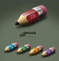 Pencil by RecluseKC