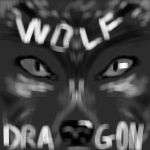 Title page to Wolf and Dragon by SetsunaDamius