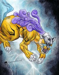 Legendary Beast - Raikou by Gasperman100