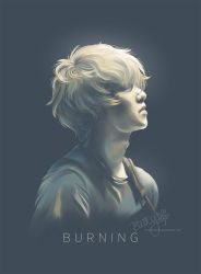 BURNING (CNBLUE's Lee Jong-hyun) by cloverhearts