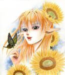 Sunflower fairy by quybaba