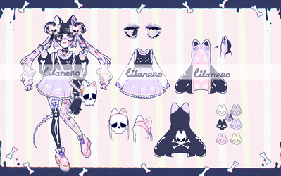 { zombie cat adopt | CLOSED } by lilanero