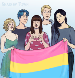 pansexual pride by Emyon