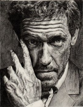Hugh Laurie aka Dr House by immith