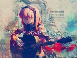 I love music - Megurine Luka by To-TheStars