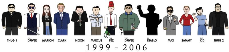 The Fez Movies - Complete Cast by MarkMushakian