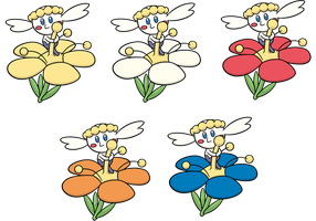Shiny Flabebe Global Link Art