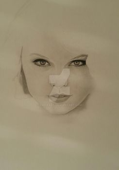 WIP-Taylor Swift Portrait by CroixArt