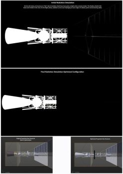 Gas Core Rocket New Radiation Simulation by William-Black