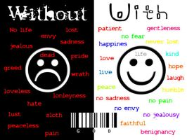 Without and with... by LaraXSKA