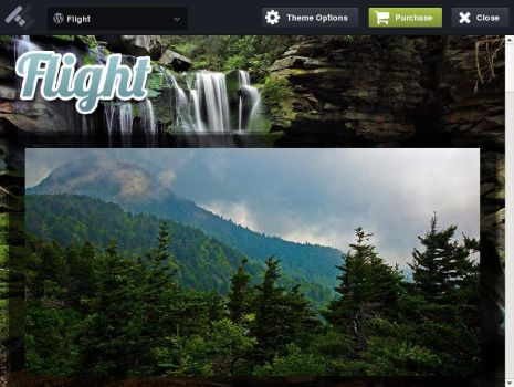 Flight - Responsive Fullscreen Background Theme by AllResourcess