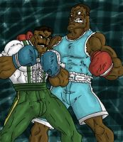Balrog VS Dudley Request by eloyoya92