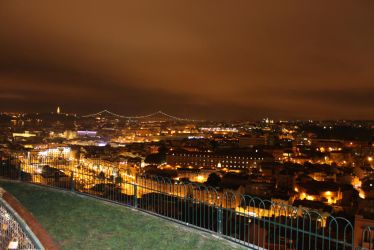 Lisbon at Night by jotamyg